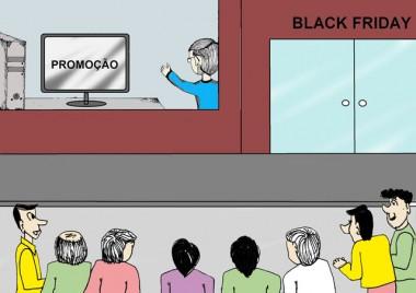 Sexta-feira negra de promoções