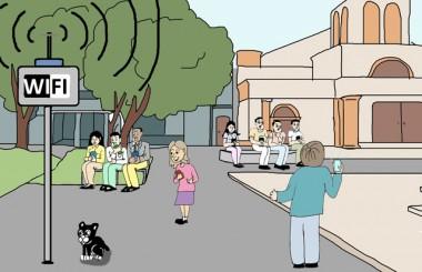 Internet na praça  foi ideia de Gentil