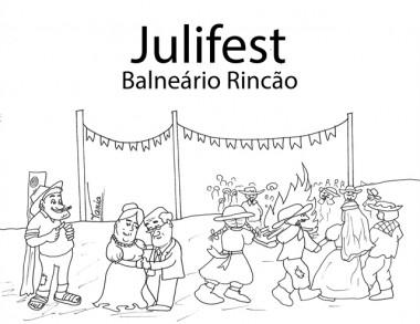Julifest agita Praia do Rincão