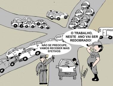 Região receberá mais efetivos na Polícia Militar