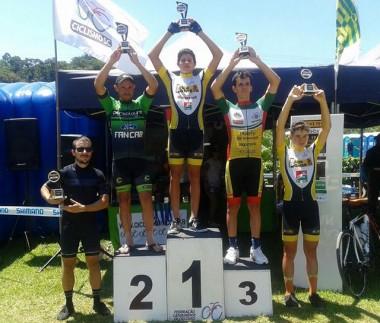 Ciclismo de Criciúma vence etapa inicial do Estadual