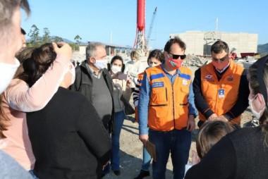 Ciclone em SC: Secretário Nacional da Defesa Civil sobrevoa áreas atingidas