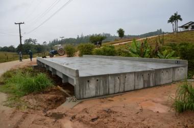 Governo de Cocal do Sul recebe Kit de transposição (ponte) da Defesa Civil