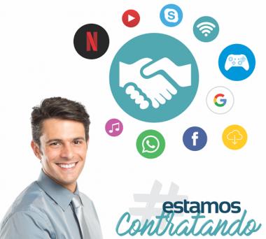 Contato Internet contrata vendedores externos para Criciúma