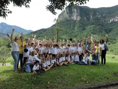Projeto Ambiental leva crianças para conhecer reserva do Aguaí