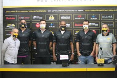 Criciúma Esporte Clube apresenta quatro reforços para a temporada