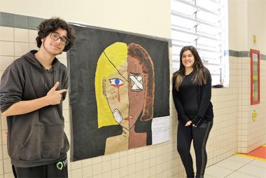 Exposição de grafites reflete a realidade social brasileira