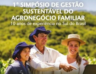 1º Simpósio de Gestão Sustentável do Agronegócio Familiar inicia nesta quarta