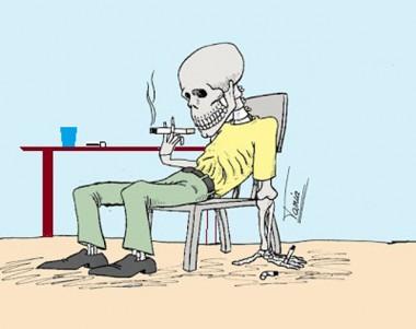 Pare de fumar ou morra fumando
