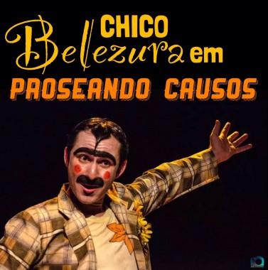 Dia da Mulher em Nova Veneza teráo espetáculo Chico Belezura em Proseando Causos