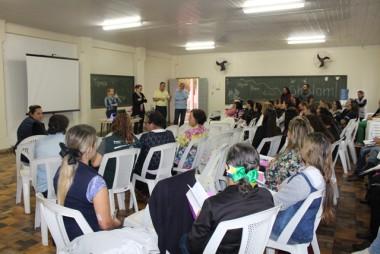 Agentes comunitárias participam de capacitação em Urussanga
