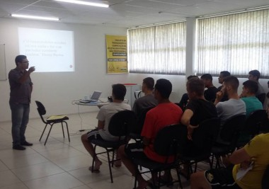 Atletas da base do Tigre fazem curso de empreendedorismo