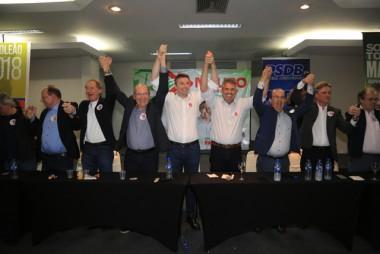 Coligação SC Quer Mais reúne candidatos a deputado