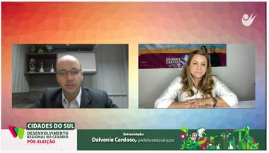 Dalvânia Cardoso integra projeto Cidades do Sul e participa de entrevista online