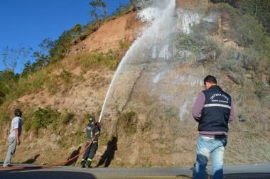 ADR e Defesa Civil realizam testes na Serra do Rio do Rastro