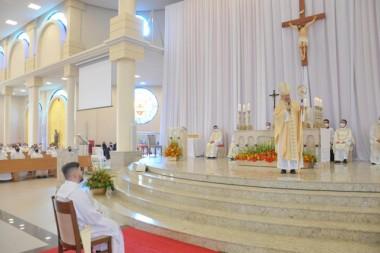 Diocese São José de Criciúma celebra ordenação de Padre Anderson