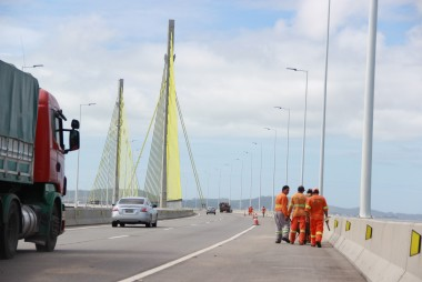 DNIT/SC fará trabalhos sobre ponte Anita Garibaldi