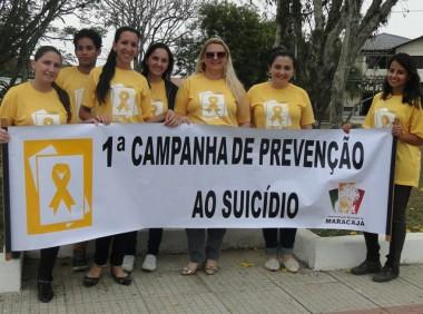 Setembro Amarelo ganha as ruas em Maracajá