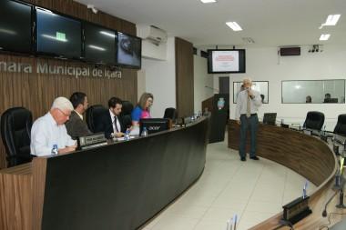 Audiência pública sobre novas antenas de telefonia móvel