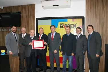 Poder Legislativo içarense homenageia a Farben