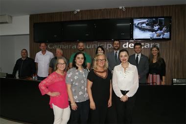 CMDM apresenta dados sobre violência contra mulheres em Içara