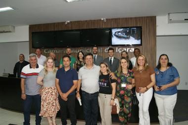Legislativo recebeu a Associação de Pais e Amigos dos Autistas
