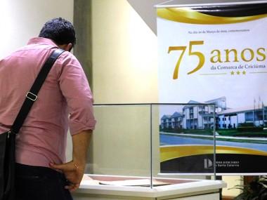 Comarca de Criciúma celebra 75 anos de instalação com exposição