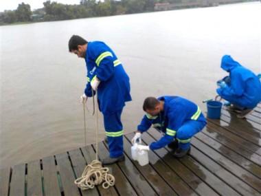Equipe do LABSatc participa de avaliação de águas