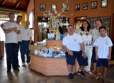 Alimentos arrecadados na 1ª Caminhada/Trilha Solidária de Siderópolis são entregues