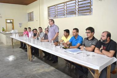 Governo de Siderópolis discute melhorias com a comunidade de São Martinho Alto