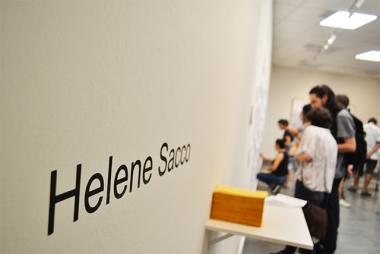 """Unesc recebe exposição """"A verdadeira matéria das coisas"""", de Helene Sacco"""