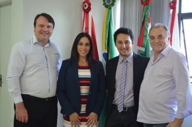 Marcos Meller toma posse na Câmara de Criciúma
