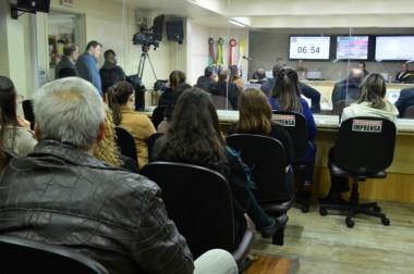 Informações sobre a Sessão do dia 3/7 na Câmara de Criciúma