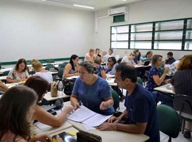 Professores da Amrec participam de Formação Continuada na Unesc