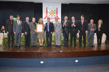 Unesc é homenageada em Sessão Especial da Câmara