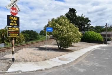 Governo de Siderópolis constrói calçadas para melhorar mobilidade