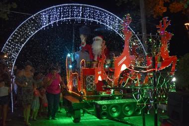 Trenzinho da Alegria de Natal passará neste domingo em Siderópolis