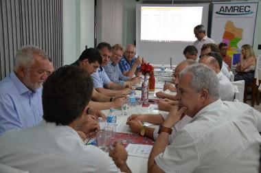 Prefeitos da AMREC pedem a manutenção do setor de prestação de convênios da ADR