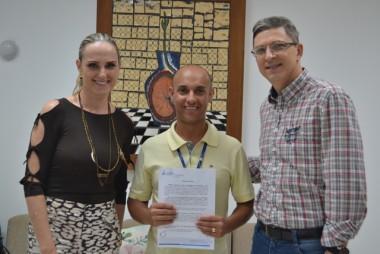 Unesc firma parceria com Centro Social Marista