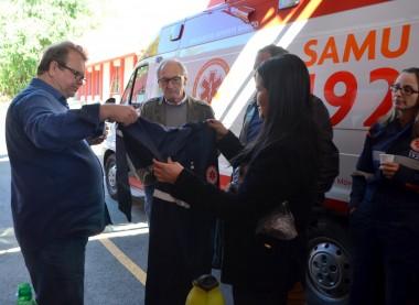 Socorristas e ambulâncias recebem equipamentos