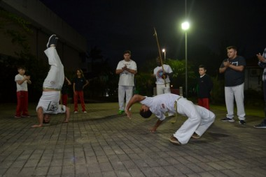 Unesc oferece aulas gratuitas de capoeira para a comunidade