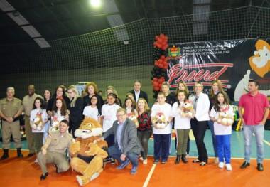 Proerd comemora 15 anos em Siderópolis com formatura