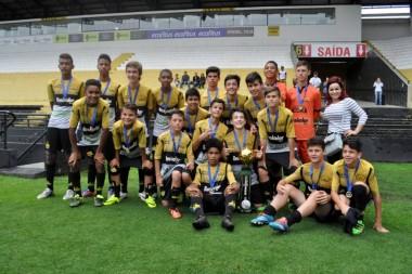 Criciúma conquista título da Taça Ouro em três categorias