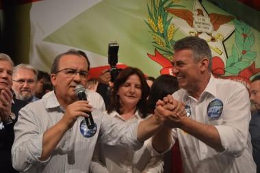 Convenção do PR homologa a candidatura de Jorginho Mello ao Senado