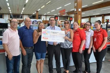 Bistek arrecada mais de 50 mil reais no Troco Solidário