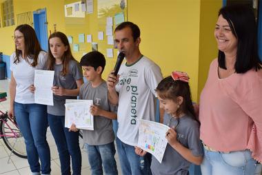 Alunos de Jacinto Machado ganham prêmios em programa de educação ambiental