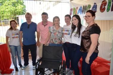Projeto garante mais quatro cadeiras de rodas