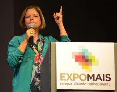 EXPOMAIS encerra em grande estilo com Eliane Cantanhêde