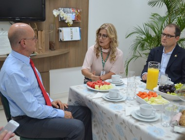 Secretário de Estado da Educação visita a Unesc