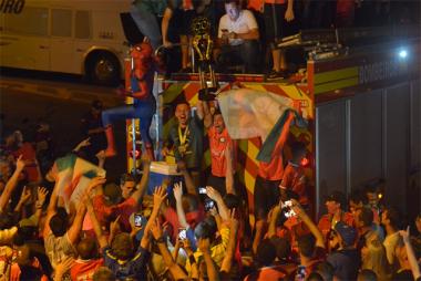 Carreata em comemoração a conquista da Série C do Catarinense